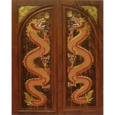 Double door with dragon I crafts.