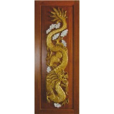 Single door with dragon II crafts.